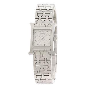 HERMES H Watch Mini Stainless Steel Ladies Watch HH1.110