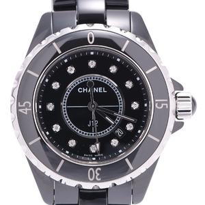 CHANEL J12 12P Diamond Unisex Ceramic Ladies Watch Quartz H1625