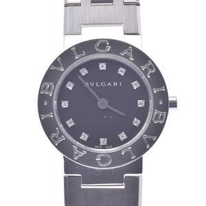 BVLGARI Bvlgari-Bvlgari 12P Diamond Ladies Steel Quartz Watch BB23SS