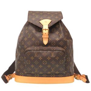 Louis Vuitton Monogram Monsuri GM Backpack M51135 LV LOUIS VUITTON