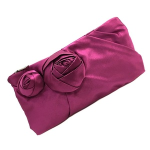 Prada Clutch Bag BP0177 Pink Satin PRADA Ladies Pouch accessory case