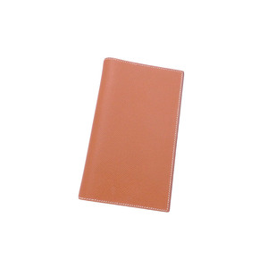 Hermes HERMES notebook cover brown leather agenda ladies men's