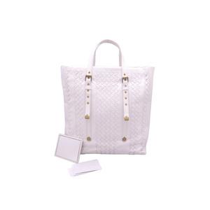 Bottega Veneta Bag Intrecciato Off White Leather Handbag Tote BOTTEGA VENETA Ladies