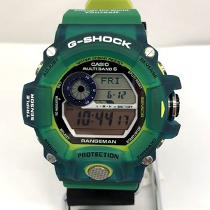 CASIO G-SHOCK watch GW-9401KJ-3JR Rangeman RANGEMAN EARTHWATCH Ghost Glass Frog 2015 Digital Radio Solar Mens