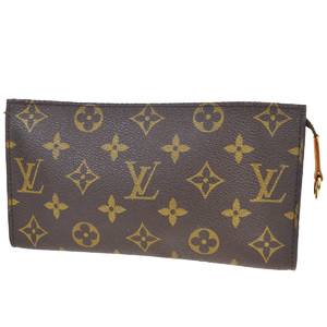 Louis Vuitton Monogram Bucket GM Included Pouch Brown