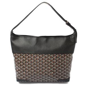 GOYARD Shoulder Bag Grenadine Black Brown