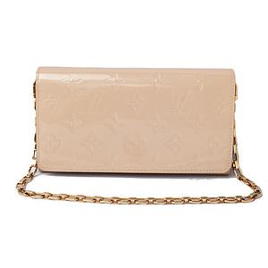 Louis Vuitton wallet with chain LOUIS VUITTON Long Portofeuil-Sala M90090 Rose Angelique