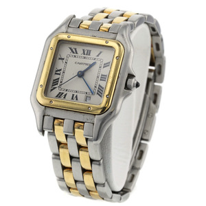 CARTIER Panthere SM 18K Gold Stainless Steel Quartz Ladies Watch