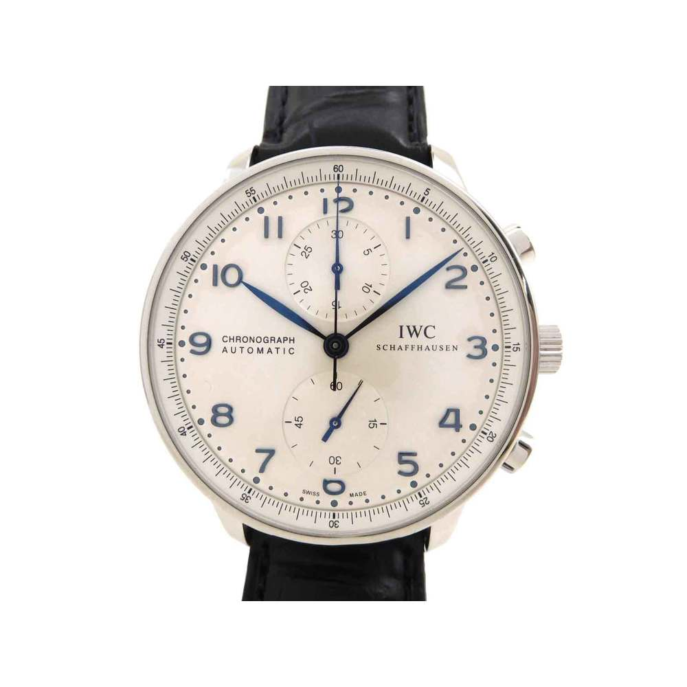 IWC Portugieser Chronograph Automatic Steel Watch IW371446