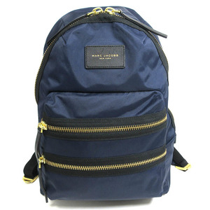 Marc Jacobs Rucksack Backpack Bag Men Women Nylon Navy 04T-1142107 MARC JACOBS
