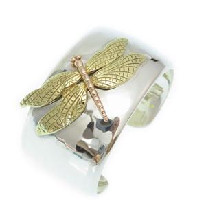 Tiffany Dragonfly Cuff Bangle K18YG K18PG Silver 925 750 Accessories 0095TIFFANY&Co.