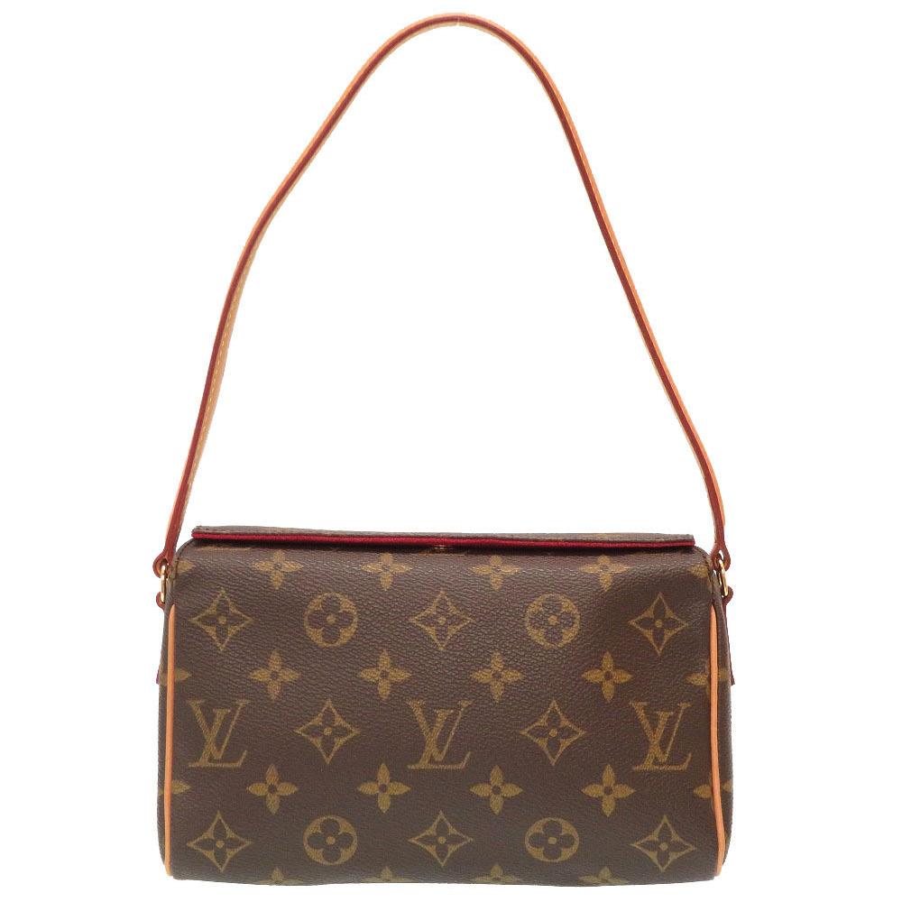 Louis Vuitton Monogram Recital M51900 Handbag Bag LV 0090 LOUIS VUITTON