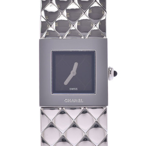 CHANEL Matelasse Stainless Steel Quartz Ladies Watch H0009