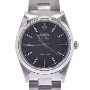 ROLEX Air King 14000 Mens SS Watch Automatic
