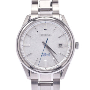 SEIKO Presage LTD Edition 6L35-00A0 SARA015 Mens Steel Watch Automatic silver dial