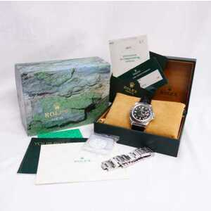 ROLEX Explorer ll 16570 A Serial Stainless Steel Automatic Mens Watch