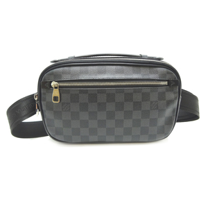 Louis Vuitton Ambler Men's Body Bag N41289 Damier Graphite Canvas