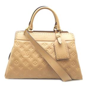 Louis Vuitton Vosges Women's Handbag M44246 Monogram Anplant Papyrus