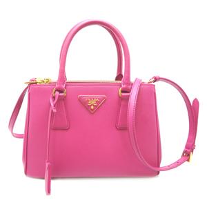 Prada Galleria 2WAY Bag Ladies Handbag 1BA896 Sapphire Norx FUXIA Fuchsia Pink