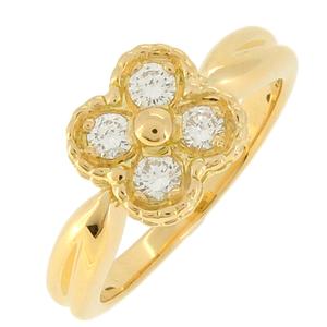 Van Cleef & Arpels Arno Diamond Ladies Ring/Ring K18 Gold No. 10
