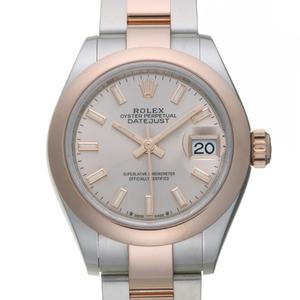 Rolex Lady-Datejust 28 Random Number Ladies Watch 279161 Stainless Steel Pink Sundust Dial