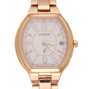 Citizen XC Happy Flight Ladies Watch ES9362-52W Stainless Steel Silver Arabian Dial