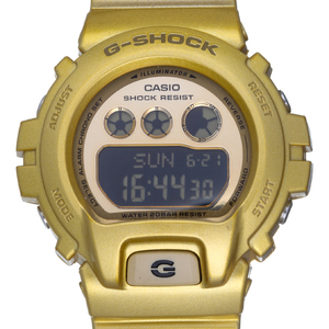 Casio G-SHOCK G-Shock S series overseas model men's watch GMD-S6900SM-9ER resin gold dial