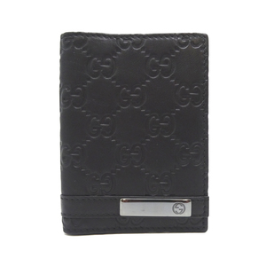 Gucci Shima Card Case Ladies/Men 233135 Leather Black
