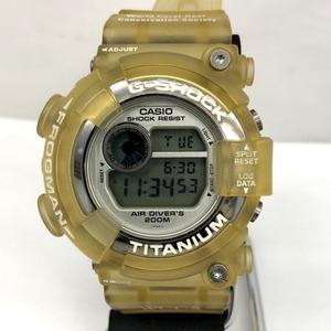 G-SHOCK CASIO Casio watch DW-8201WC-7T FROGMAN WCCS Triple Manta Quartz