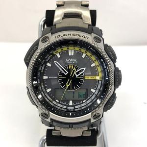 CASIO Casio watch PRO TREK PRW-5000T Digiana men's