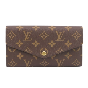 ルイ・ヴィトン(Louis Vuitton) モノグラム ポルトフォイユサラ レディース ダミエキャンバス 長財布(二つ折り) エベヌ