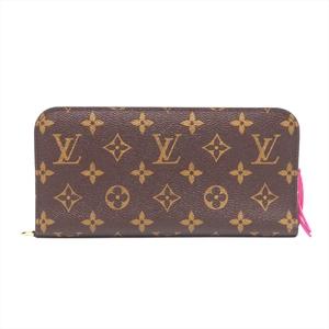 ルイ・ヴィトン(Louis Vuitton) モノグラム ポルトフォイユ アンソリット レディース モノグラム 財布 ローズポップ