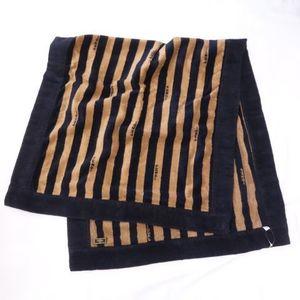 FENDI Towel bracket brown black stripe Fendi R255-27
