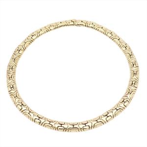 Bvlgari Alveare Yellow Gold (18K) Women's Elegant,Fine Choker Necklace (Yellow Gold)