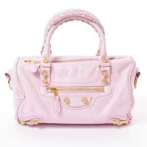 Balenciaga Mini Twiggy 2WAY bag pink leather
