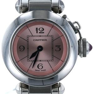 CARTIER Miss Pasha Steel Quartz Ladies Watch W3140008