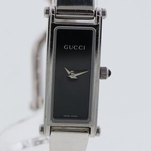グッチ GUCCI レディース 腕時計  1500L クオーツ ブラック