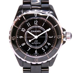 CHANEL J12 Ceramic Automatic Mens Watch H0685
