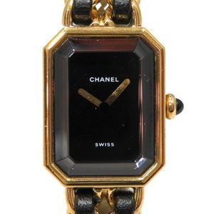 CHANEL Premiere Size S Gold Plated Quartz Ladies Watch H0001