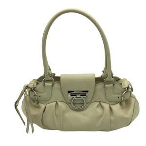 Salvatore Ferragamo Marissa Gancini handbag calf silver hardware leather