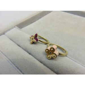 JA171 LOUIS VUITTON Louis Vuitton Perg Sweet charm ring set of 2 M66242 S size