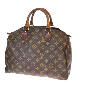 ルイ・ヴィトン(Louis Vuitton) モノグラム ユニセックス ハンドバッグ ブラウン