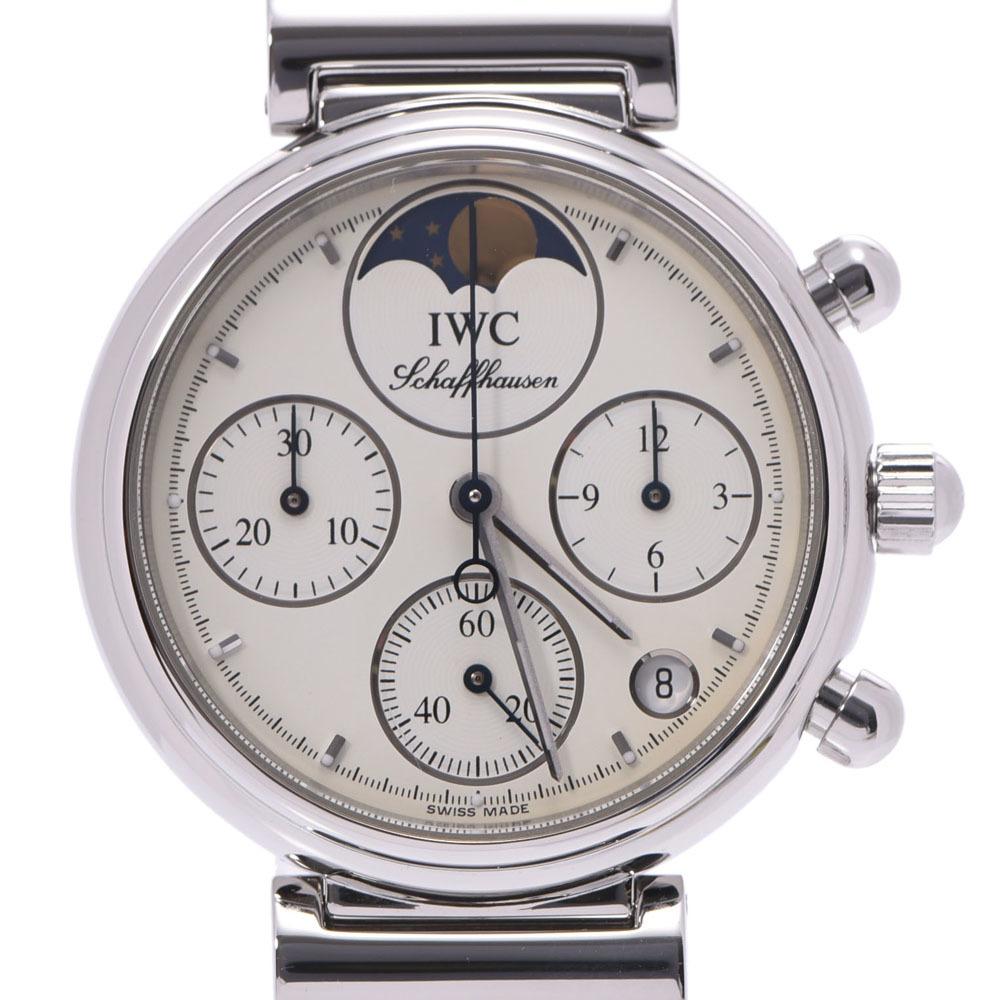IWC SCHAFFHAUSEN Ida Brucie Schaffhausen Little Da Vinci 3736-006 Ladies SS Watch Quartz White Dial