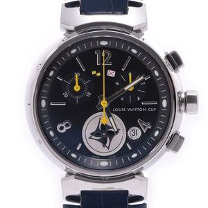 LOUIS VUITTON Louis Vuitton Tambour Lovely Cup MM Q132G Boys SS Leather Wrist Watch Quartz Dial