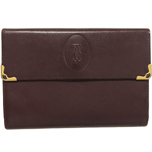 Cartier Wallet Must Line Leather 2C