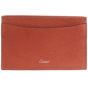 Cartier Card Case Remast Holder Leather Pass