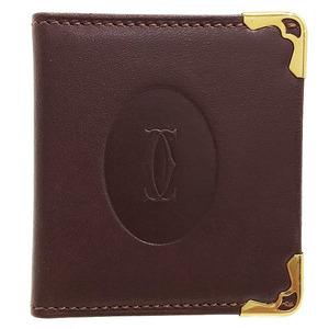 Hermes Cartier Photo Case Mast Mini Frame Leather 2C