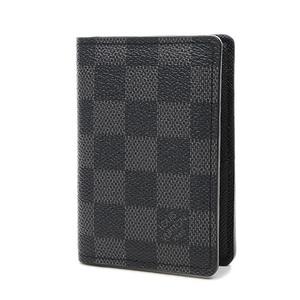 Louis Vuitton Damier Graphite Card Case Organizer De Poche N63075