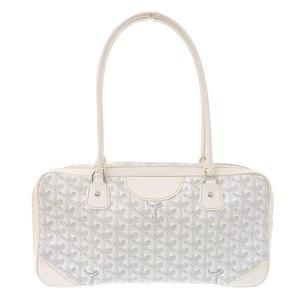 GOYARD Saint Martin handbag coated canvas white