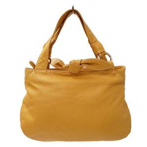 LOEWE Handbag Leather Camel Ladies